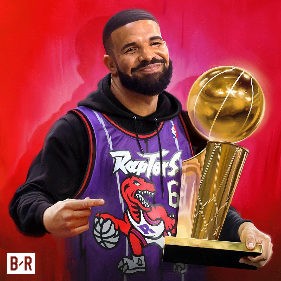 DRAKE CELEBRATES THE RAPTORS' NBA CHAMPIONSHIP WITH NEW